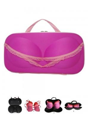Cute Pink Lingerie Bra & Panty Undergarments Organiser